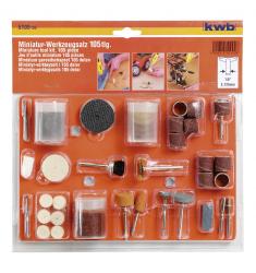 Set mini accessori per smerigliatrice a