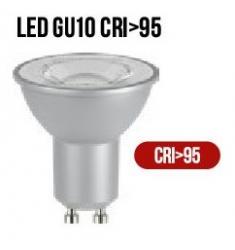 LAMPADA GU10 90&-176- LED 5,7W CR-95 3000K