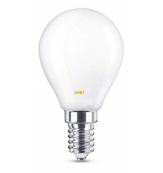 LAMPADA LED FULL LIGHT SFERA E14 6W