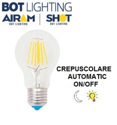LAMPADA LED STICK E27 CREPUSCOLARE 7W