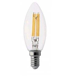 LAMPADA LED FILAM. TRASP. OLIVA 6,0W