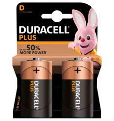 "BATTERIA DURACELL TORCIA ""D"""