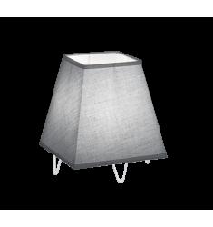 LAMPADA DA TAVOLO ZING GRIGIA