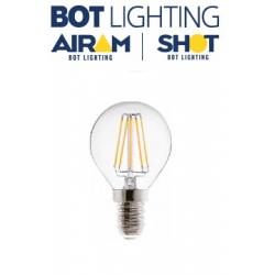 LAMPADA LED FILAM. TRASP. SFERA E14 2,5W