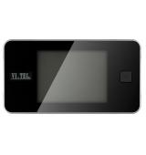"""SPIONCINO DIGITALE LCD 3,2"""" CROMO SATIN."""
