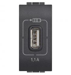 LL - caricatore USB antracite