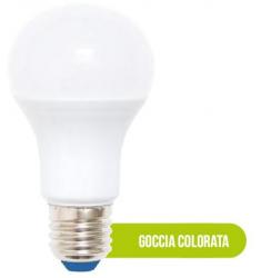 LAMPADA LED GOCCIA COLORATA 3W VERDE
