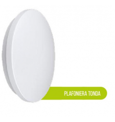 PLAFONIERA LED 20W TONDA 6500K 1600LM